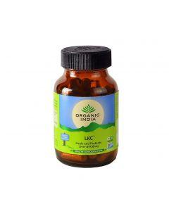 Organic India LKC 60 Capsules Bottle