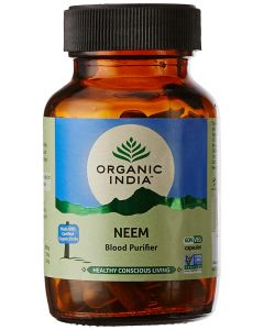 Organic India Neem Blood Purifier-60Capsules