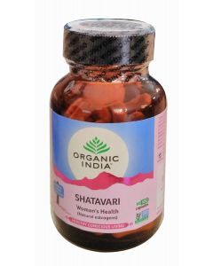Organic India Shatavari-60 Capsules Bottle