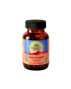 Organic India Sugar Balance - 60 Capsules Bottle