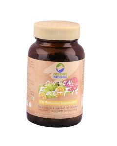 Organic Wellness Heal Fat-Fit-90 Capsules