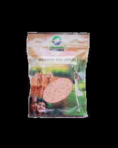 Organic Wellness Masoor Dal Split-500gm