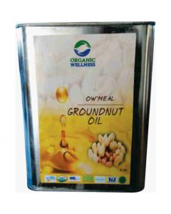 Organic Wellness Meal Groundnut Oil-2ltr
