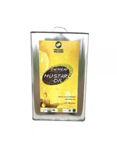 Organic Wellness Meal Mustard Oil-5Ltr
