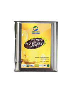 Organic Wellness Meal Mustard Oil-2ltr