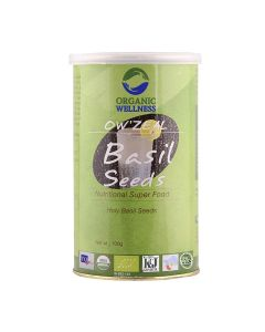 Organic Wellness Organic Zeal Basil Seeds-100gm
