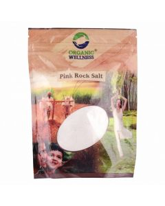 Organic Wellness Pink Rock Salt (Sainda Namak)-500gm pack of 2pc