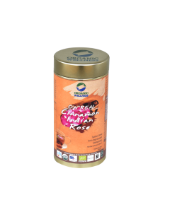Organic Wellness Real Cinnamon Indian Rose-100gm Tin