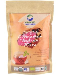 Organic Wellness Cinnamon Indian Rose-100gm Zipper Pouch