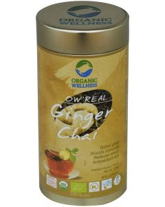 Organic Wellness Real Ginger Chai-100gm Tin