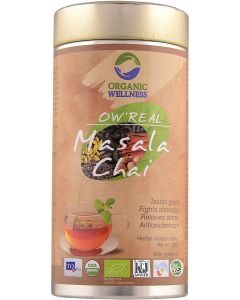 Organic Wellness Real Masala Chai-100gm Tin