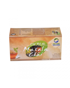 Organic Wellness Real Masala Chai-100gm zipper pouch