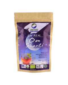 Organic Wellness Real Om Shanti-100gm zipper pouch
