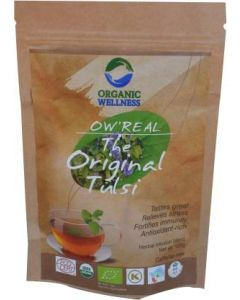 Organic Wellness Real The Original Tulsi-100gm zipper pouch