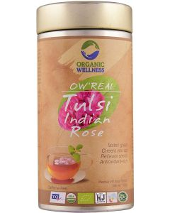 Organic Wellness Real Tulsi Indian Rose-100gm Tin