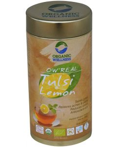 Organic Wellness Real Tulsi Lemon-100gm Tin
