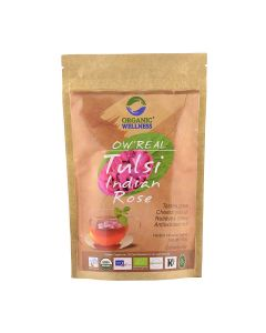 Organic Wellness Tulsi Indian Rose-100gm Zipper Pouch