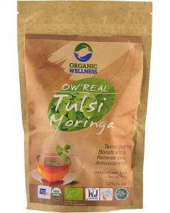 Organic Wellness Tulsi Moringa-100gm Zipper Pouch