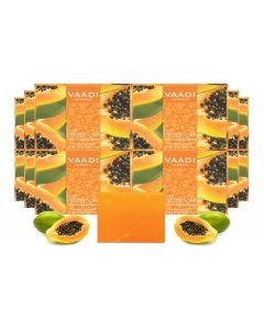 Vaadi Herbals Papaya Soap Gift Box (10 x 75 gms)