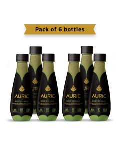 Auric Ayurvedic Body Defence Beverage 250ml-pack of 6pcs