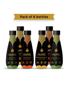 Auric Ayurvedic Beauty & Wellness Beverage 250ml-pack of 6pcs