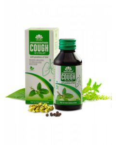 Pankajakasthuri Cough Syrup with Tulsi-100ml Pack of 2pc