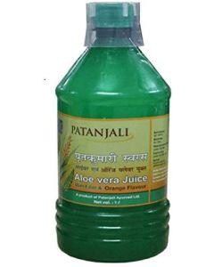 Patanjali Aloevera Juice-1lr Orange flavour