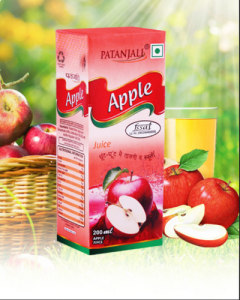 Patanjali Apple Beverage-200ml