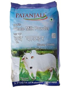 Patanjali Cows Whole Milk Powder-500gm
