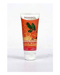 Patanjali Honey Orange Face Wash-60gm