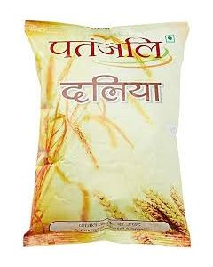 Patanjali Wheat Dalia-500gm pack of 5