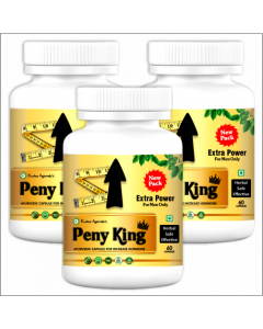Kaahan Ayurveda Peny King-60Capsules Pack of 3pc