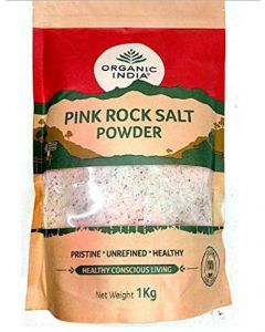 Organic India Pink Rock Salt Powder-1Kg