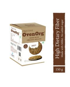 Pristine Organics OvenOrg- Organic Mixed Millet Biscuits Diet-150gm