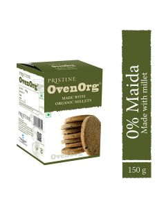 Pristine Organics OvenOrg - Organic Mixed Millet Biscuits-150gm
