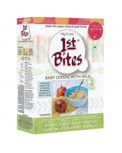 Pristine Organic 1st Bites - Wheat & Apple Powder 8 Months - 24 Months-300gm