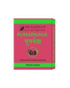 Dr. Vaidya's Punarnava Pills Pack of 3 Kidney Stones & Other Kidney Problems-72 Pills
