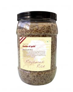 Pristine Fields of Gold Rajamudi Rice-1kg ( Jar )