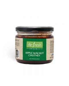 Refresh Organic Apple Walnut Chutney-350gm
