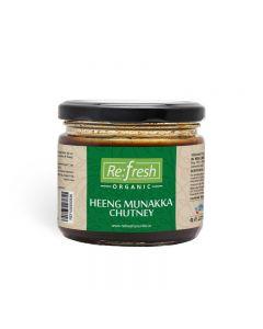 Refresh Organic Heeng Munakka Chutney-350gm