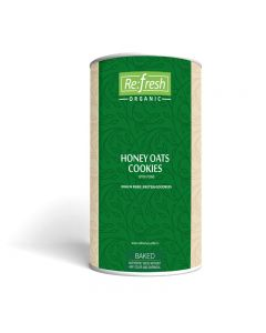 Refresh Organic Honey Oats Cookies-200gm
