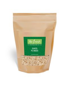 Refresh Organic Oats Flakes-500gm