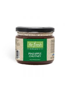 Refresh Organic Pineapple Chutney-350gm
