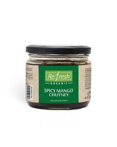 Refresh Organic Spicy Mango Chutney-350gm