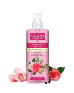 Vaadi Herbals Rose Water Pure (250ml)
