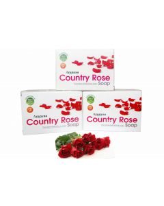 Aranyaa Country Rose Soap-75gm Pack of 3pc