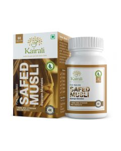 Kairali Safed Musli Capsules 500 mg-60cap