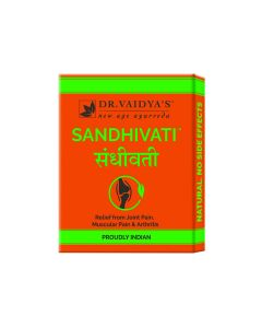 Dr. Vaidya's Sandhivati Pills Pack of 4 Arthritis & Joint Pain-72 Pills