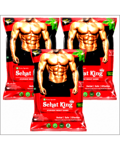 Kaahan Ayurveda Sehat King Powder-160gm Pack of 3pc