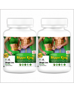 Kaahan Ayurveda Shape King-60Capsules Pack of 2pc